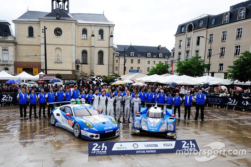#78 KCMG Porsche 911 RSR: Крістіан Ріід, Вольф Хенцлер, Жоель Каматьяс, #47 KCMG Oreca 05 - Nissan: TЦугіо Мацуда, Метт Хоусон, Річард Бредлі