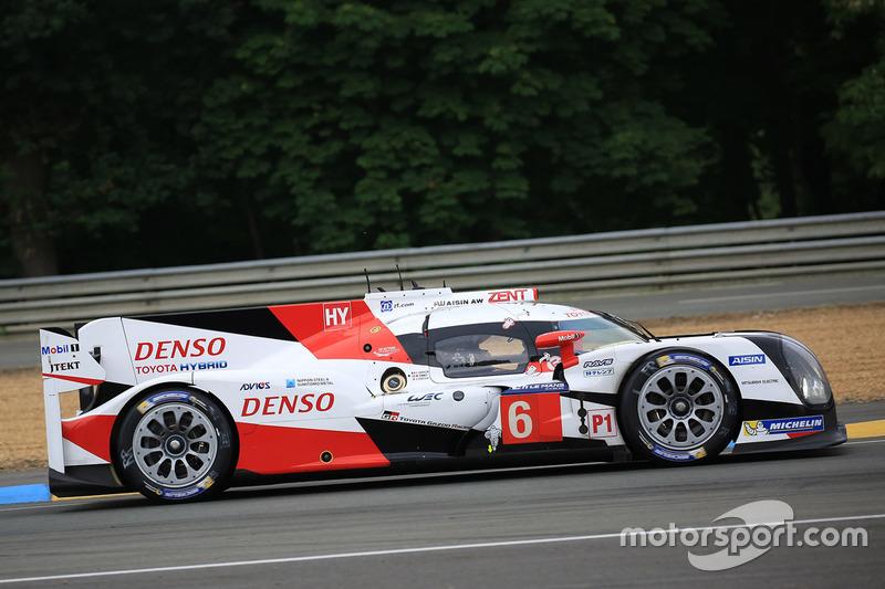 #6 Toyota Racing, Toyota TS050 Hybrid: Stéphane Sarrazin, Mike Conway, Kamui Kobayashi, Alexander Wurz