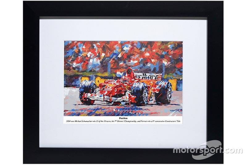 Peinture de Simon Canacott - Michael Schumacher sans égal