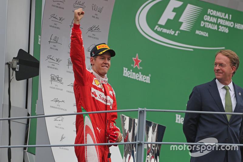 Podium: 3. Sebastian Vettel, Scuderia Ferrari