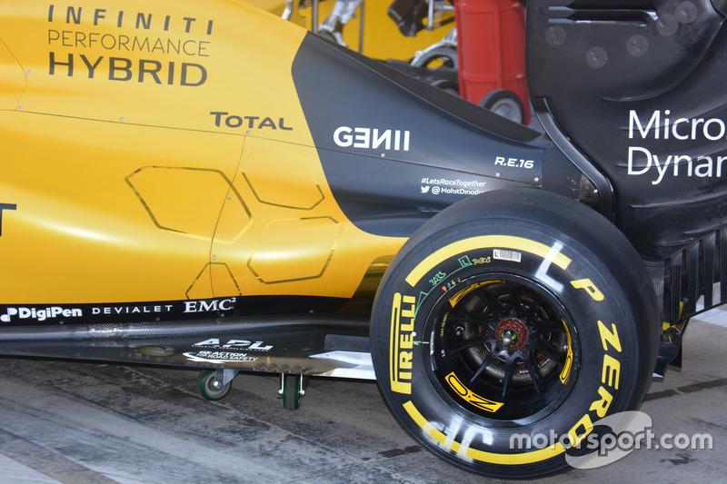 Seite, Renault Sport F1 Team RS16