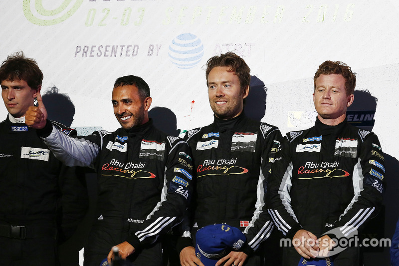 LM GTE Am, 1. Platz Khaled Al Qubaisi, David Heinemeier Hansson, Patrick Long, Proton Racing
