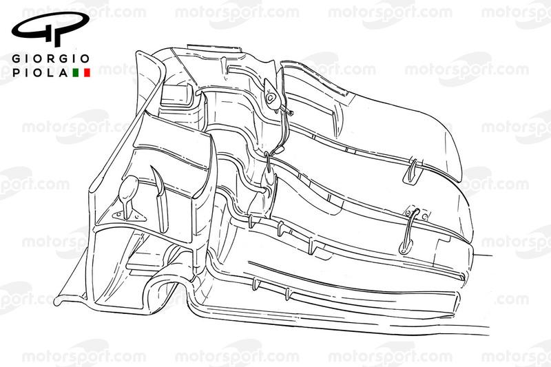 Force India VJM09 front wing, Barcelona