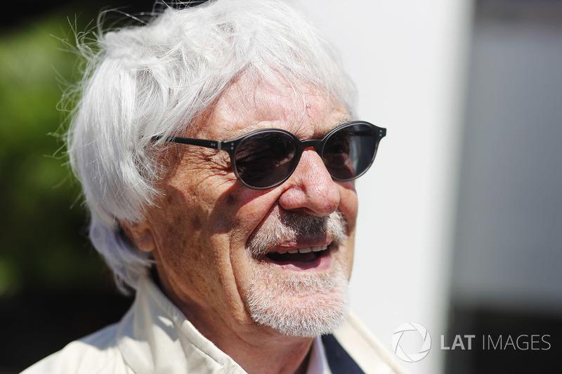 Bernie Ecclestone, Chairman Emiritus Formula 1