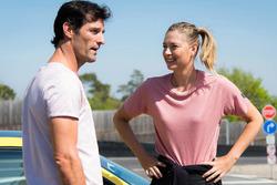Mark Webber y Maria Sharapova
