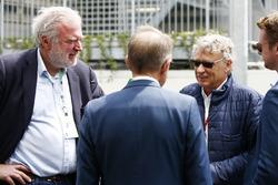 Lars Seier Christensen, CEO, Seier Capital, and Hermann Tilke in the paddock