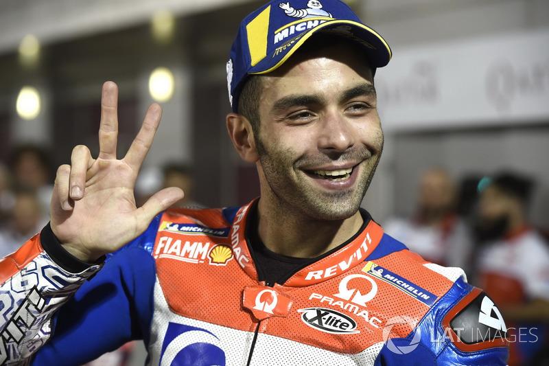 3- Danilo Petrucci, Pramac Racing