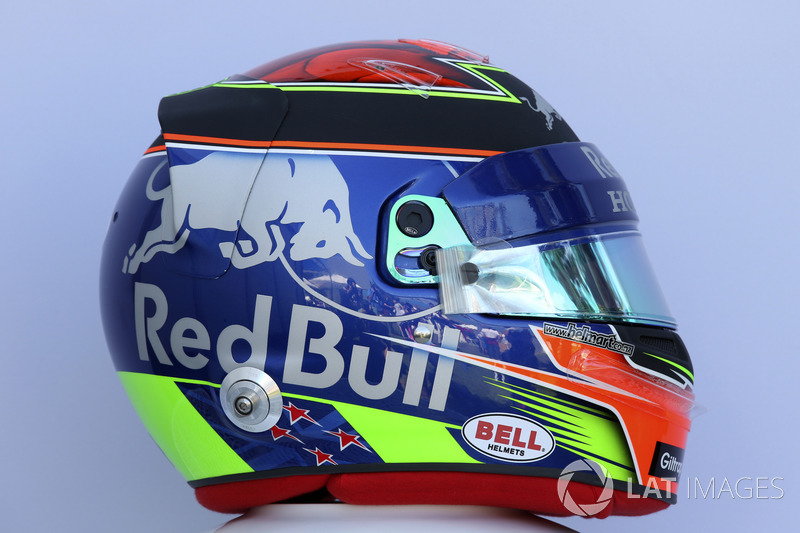 Brendon Hartley, Scuderia Toro Rosso helmet