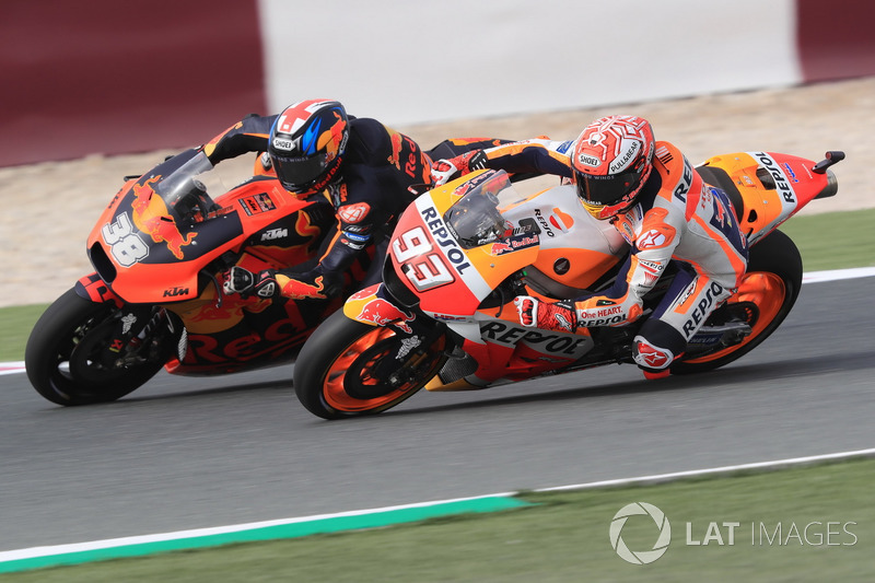 Marc Marquez, Repsol Honda Team, Bradley Smith, Red Bull KTM Factory Racing