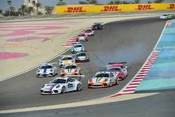 جولة البحرين الافتتاحية للموسم التاسع من تحدي كأس بورشه جي تي 3 الشرق الأوسط