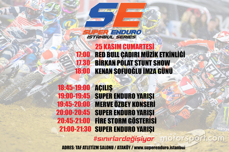 Super Enduro program