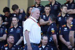 Dr Helmut Marko, Red Bull Motorsport Consultant bij de Red Bull Racing-teamfoto