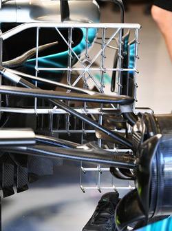 Valtteri Bottas, Mercedes-Benz F1 W08 aero sensor