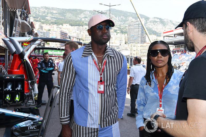 Гран При Монако: баскетболист Дуэйн Уэйд