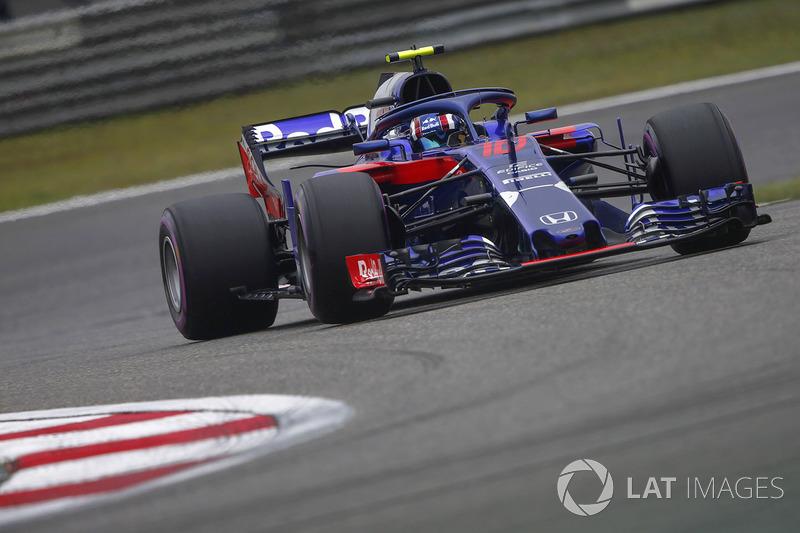 17 місце — П'єр Гаслі, Toro Rosso — 12