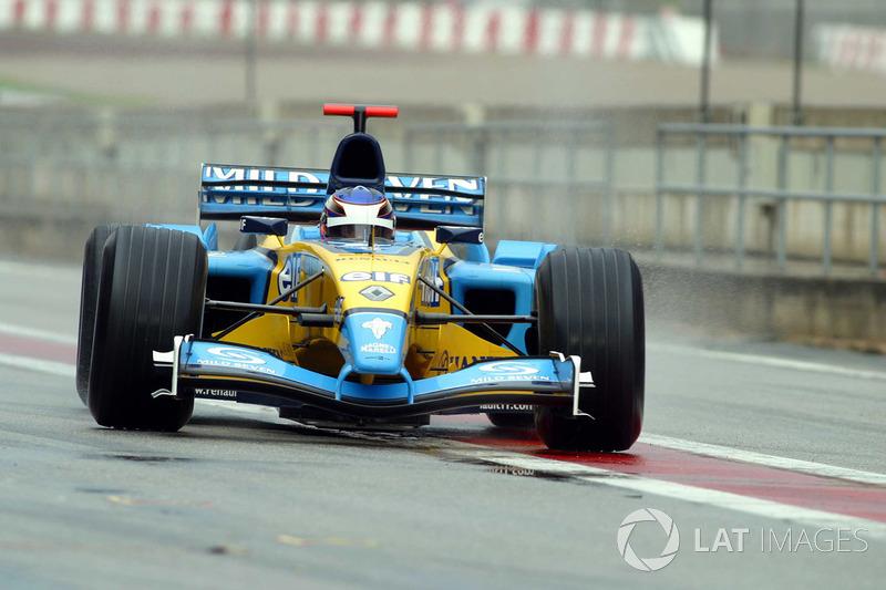 2003 - Essais chez Renault