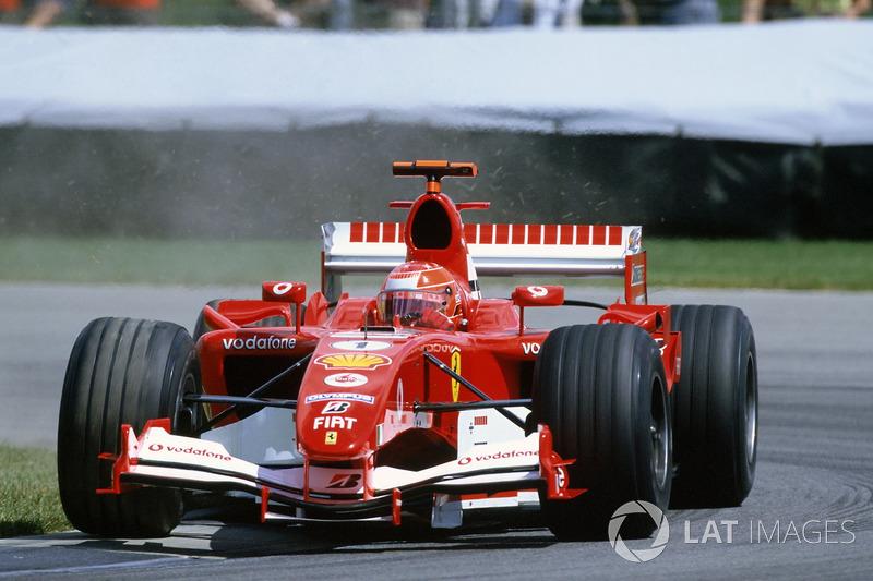 Ganador de la carrera Michael Schumacher, Ferrari F2005