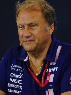 Bob Fernley, Deputy Team Principal, Force India