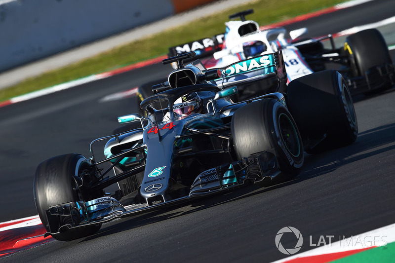 1º Mercedes (Mercedes, Williams, Force India): 856 vueltas.