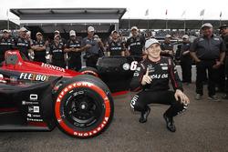 Polesitter Robert Wickens, Schmidt Peterson Motorsports Honda