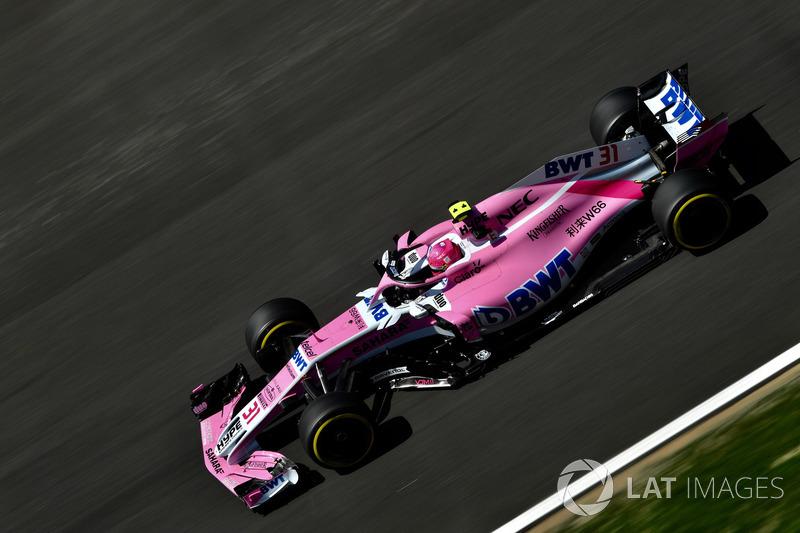 Ausfall: Esteban Ocon, Force India VJM11