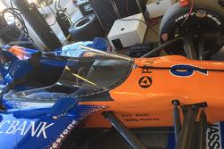 Auto von Scott Dixon, Chip Ganassi Racing Honda, mit Cockpitschutz