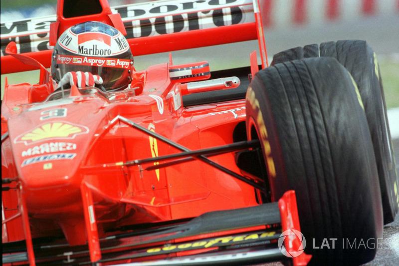 2: Michael+Schumacher: 237 GPs (77,20% dos disputados)