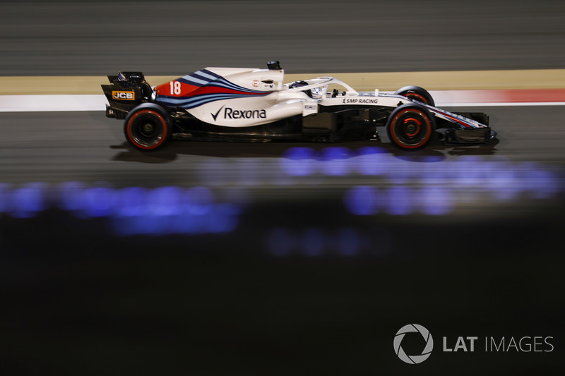 20. Ленс Стролл, Williams FW41 Mercedes