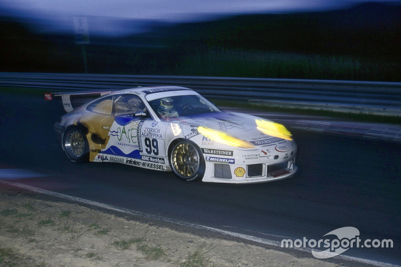 2000: Bernd Mayländer, Michael Bartels, Uwe Alzen, Altfrid Heger (Porsche 911 GT3-R)