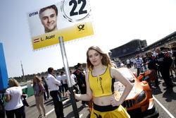 Grid girl of Lucas Auer, Mercedes-AMG Team HWA