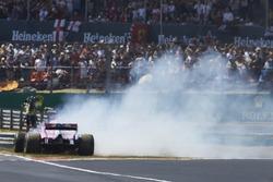 Серхіо Перес, Force India VJM11, розворот