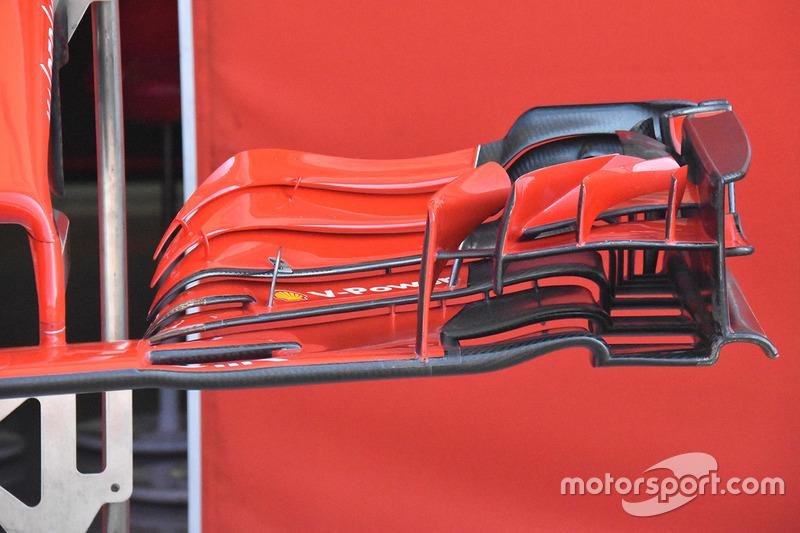 Переднее крыло Ferrari SF71H (старая версия)