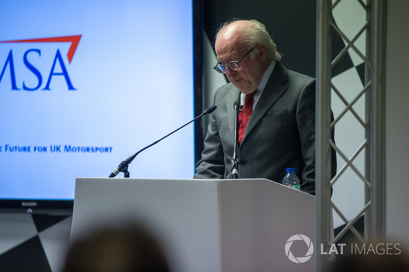 21st Watkins Lecture at Autosport International, presented by David Richards CBE