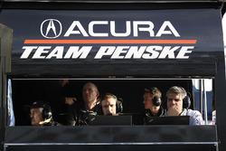 #6 Acura Team Penske Acura DPi, P: Roger Penske and engineers