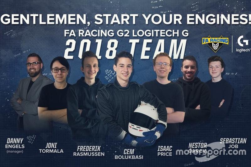 Alineación FA Racing G2 2018