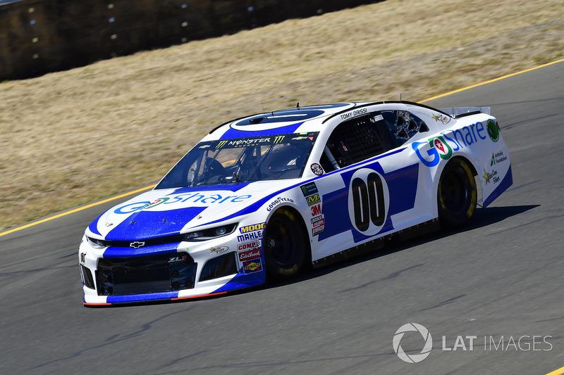37. Tomy Drissi, StarCom Racing, Chevrolet Camaro Go Share