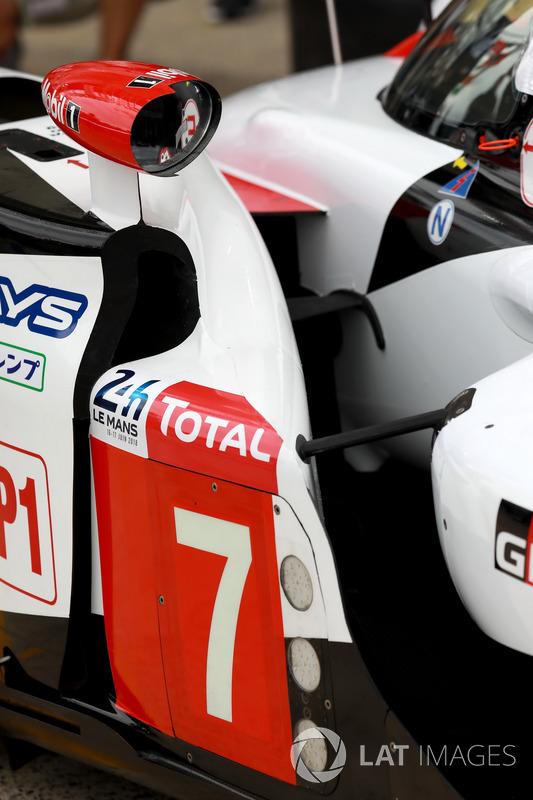 Dettaglio della Toyota TS050 #7 Toyota Gazoo Racing