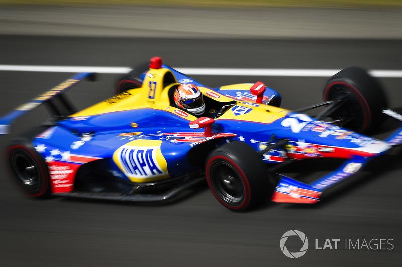 32°: Alexander Rossi, Andretti Autosport Honda