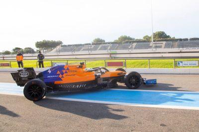 Pirelli Paul Ricard November testing