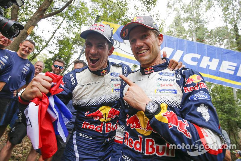 WRC: Себастьян Ож'є та Жюльєн Інграссія