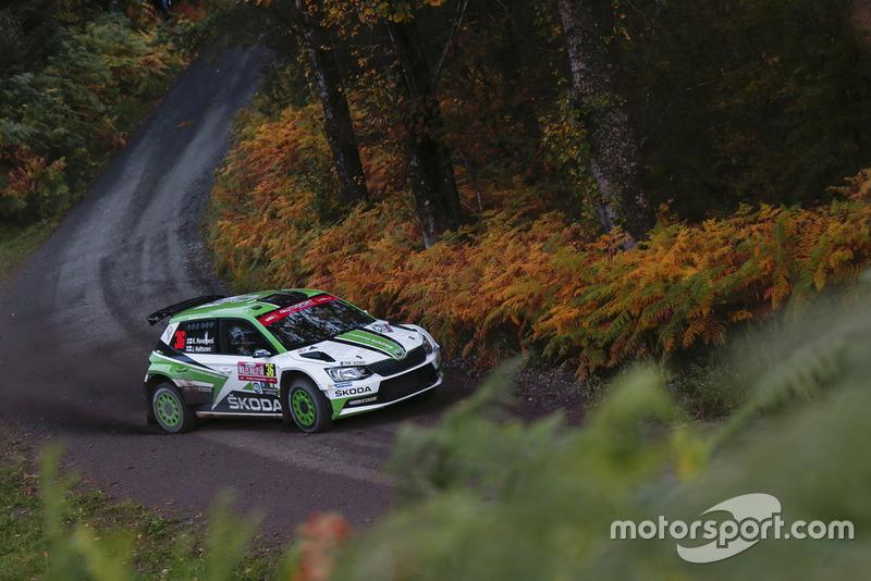 Kalle Rovanperä, Jonne Halttunen, Škoda Motorsport Škoda Fabia R5