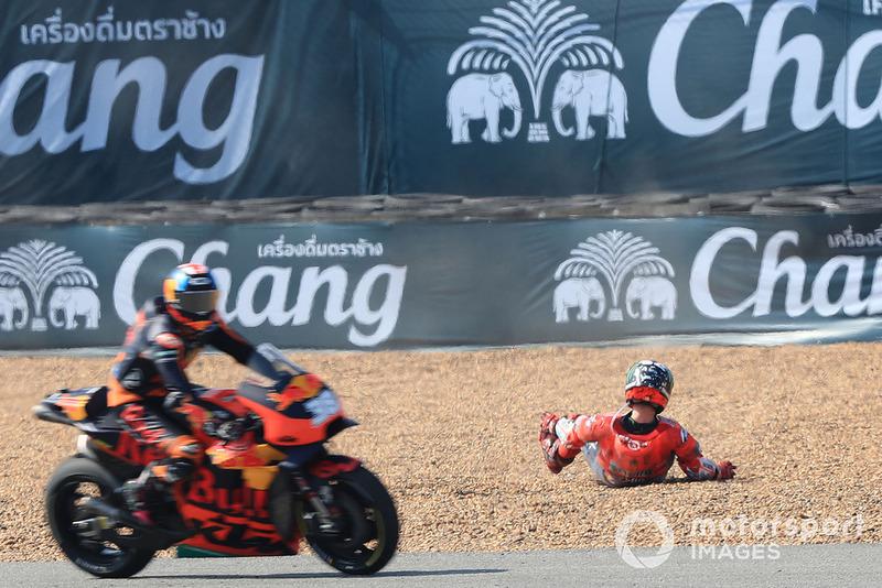 Jorge Lorenzo, Ducati Team después de la caída
