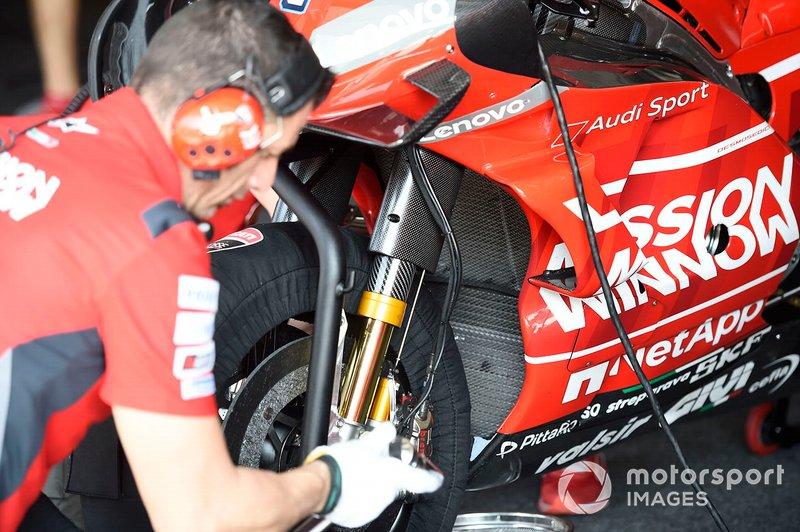 Ducati Desmosedici GP19: Gabel