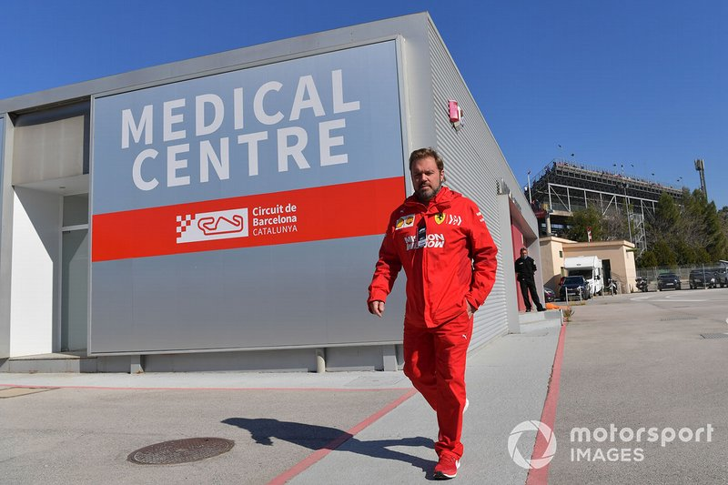 Gino Rosato, Ferrari au centre médical