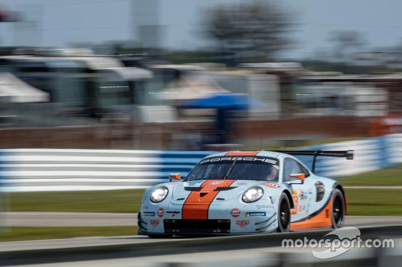 #86 Gulf Racing Porsche 911 RSR: Michael Wainwright, Ben Barker, Thomas Preining