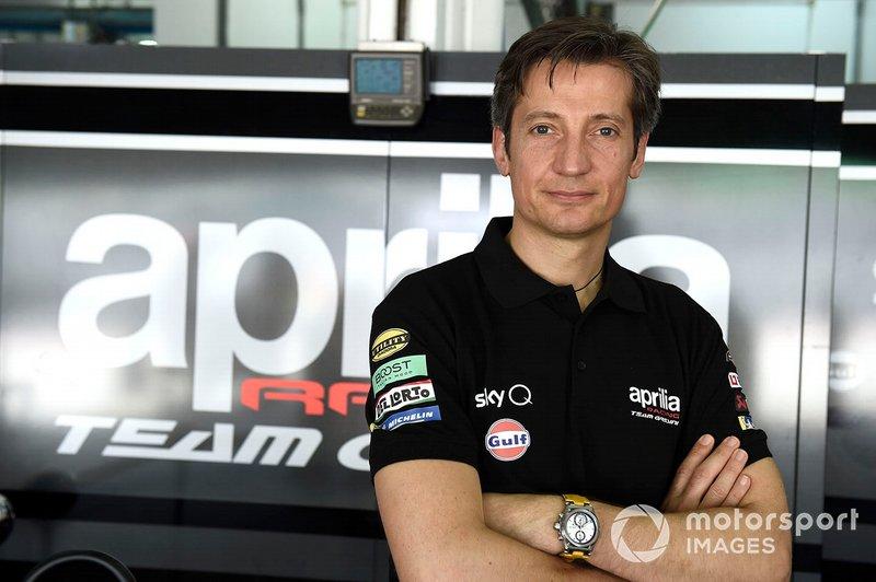 Массімо Рівола, генеральний директор Aprilia Racing