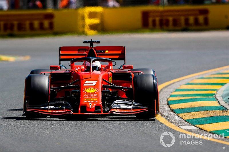 4. Sebastian Vettel, Ferrari SF90