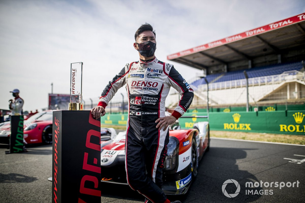 Polesitter #7 Toyota Gazoo Racing Toyota TS050: Kamui Kobayashi