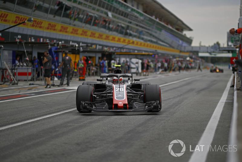 11. Kevin Magnussen, Haas F1 Team VF-18