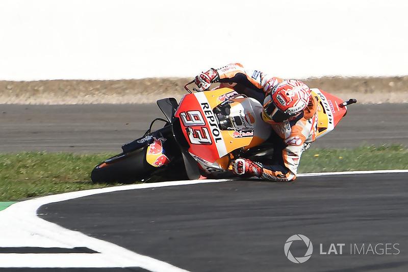 MotoGP Inggris: Marc Marquez, Repsol Honda Team